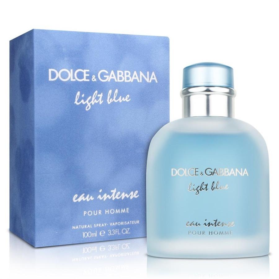 7a169a6c65e75 Perfume Light Blue Eau Intense Eau De Parfum 100ml Masculino - R  416,49 em  Mercado Livre