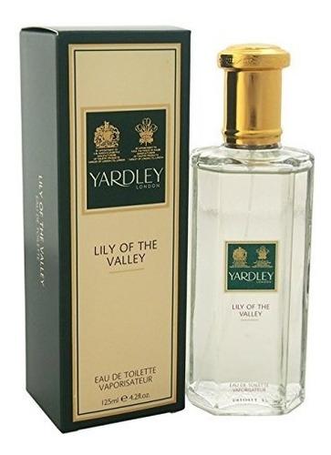 perfume lirio de los valles por yardley de londres para la