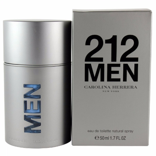 perfume locion 212 carolina herrera 100 ml hombre original