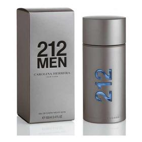 Perfume Locion 212 Men 100ml Original - L a $80000