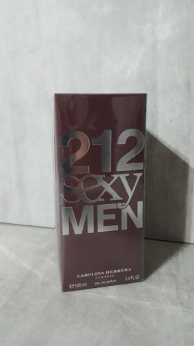 perfume loción 212 sexy men de carolina herera de 100ml