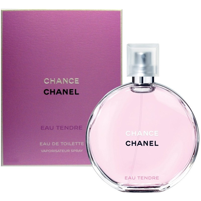 perfume loci n chanel chance eau tendre mujer 100 ml en mercado libre. Black Bedroom Furniture Sets. Home Design Ideas