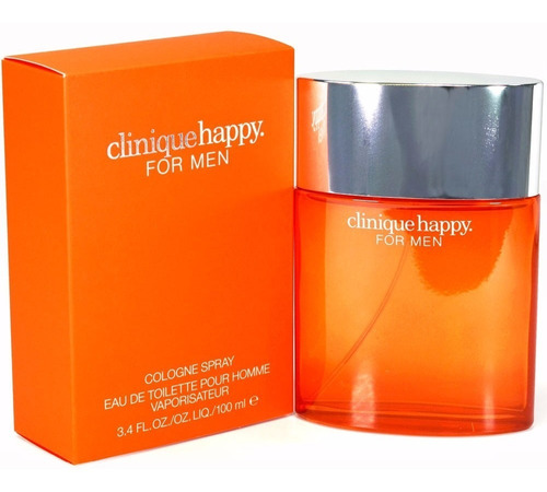 perfume locion clinique happy 100 m/l para hombre original.