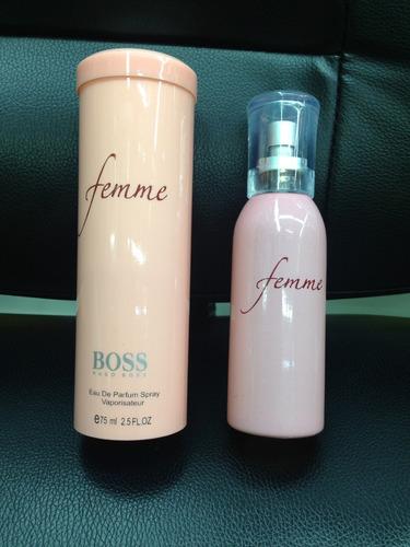 perfume loción femme hugo boss