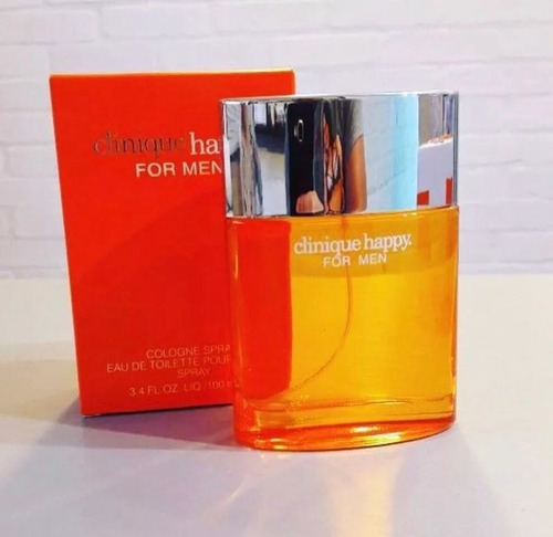 perfume locion happy clinique 100 ml original men