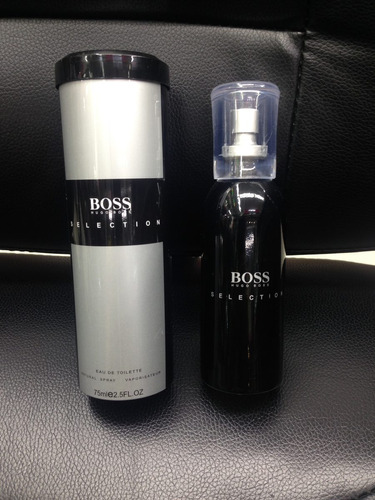 perfume, loción hugo boss selection