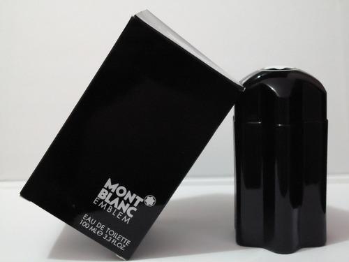 perfume locion montblanc emblem hombre 100 ml original