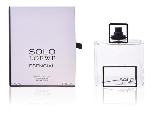 perfume locion solo loewe esencial homb - l a $1900