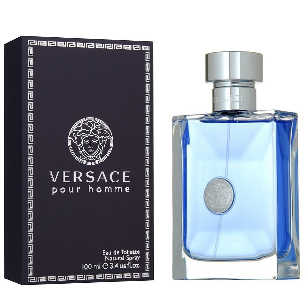 0ad24f99fec9 Perfume Locion Versace Pour Homme 100 Ml Excelente Calidad -   59.900 en  Mercado Libre