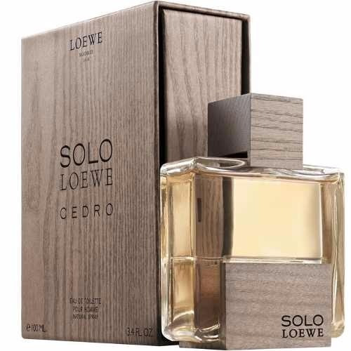 perfume loewe solo cedro original 100 ml envio hoy