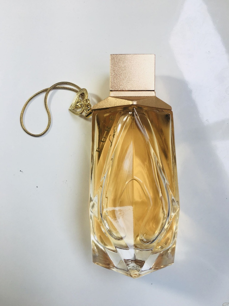 Perfume Lonkoom Pure Love Gold Edp 100ml S Cartucho R 45