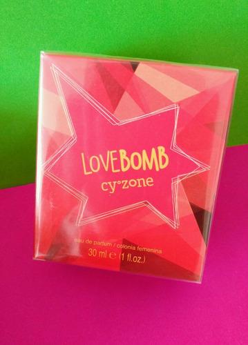perfume lovebomb de cyzone