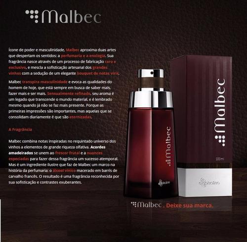 perfume malbec tradicional lacrado original - o boticário