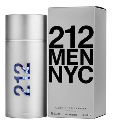 perfume masculino 212 men edt 100ml - original e lacrado