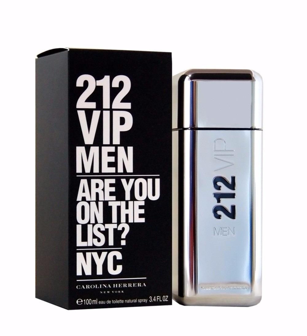 be02614d0 perfume masculino - 212 vip - carolina herrera - 50 ml n°7. Carregando zoom.