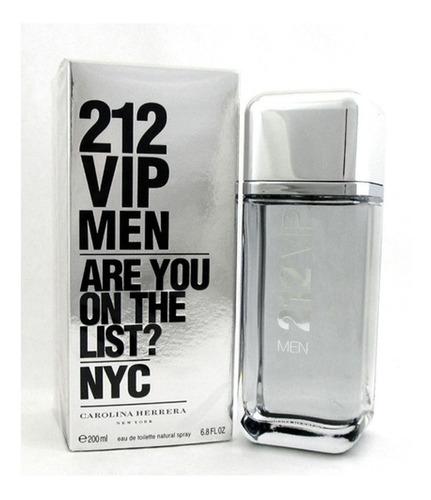 perfume masculino 212 vip men edt 200ml - lacrado original