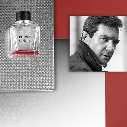perfume masculino antonio banderas power of seduction 100ml