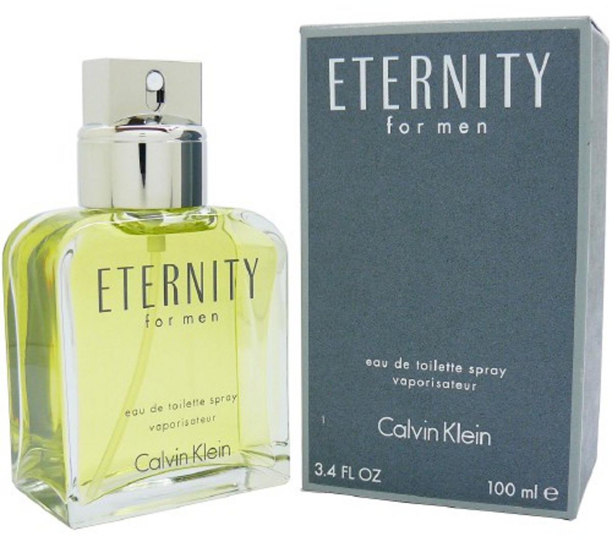 perfume masculino calvin klein eternity for men edt 100ml. Carregando zoom. 79cccd1398