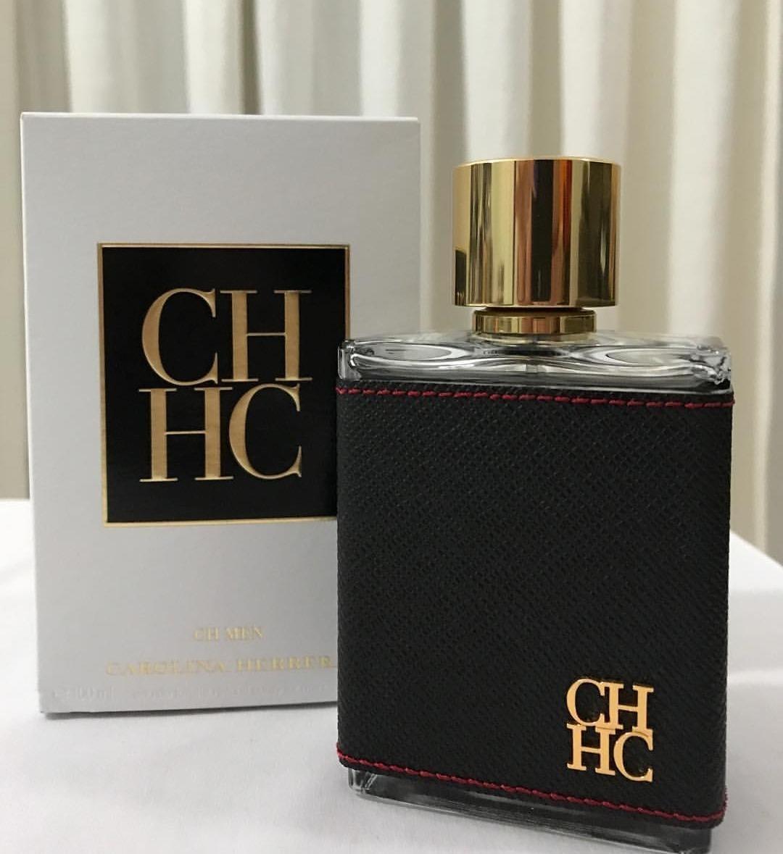 a79b34900 perfume masculino ch men. carolina herrera edt 100 ml  . Carregando zoom.