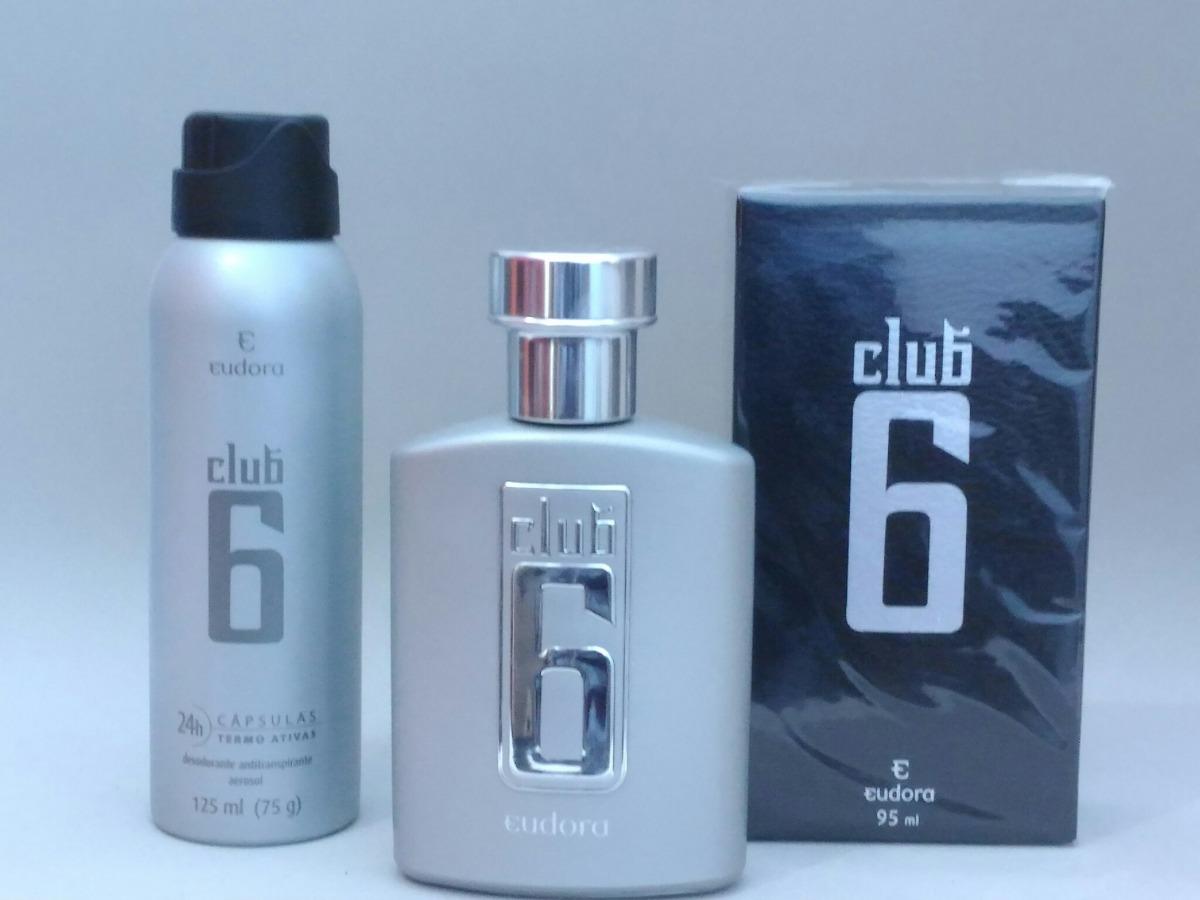 bbdae59b532 perfume masculino club 6 deo colonia + desodorante aerossol. Carregando  zoom.