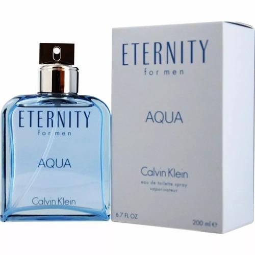 perfume masculino eternity aqua 200 ml original e lacrado