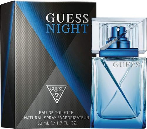 perfume masculino guess night 50ml