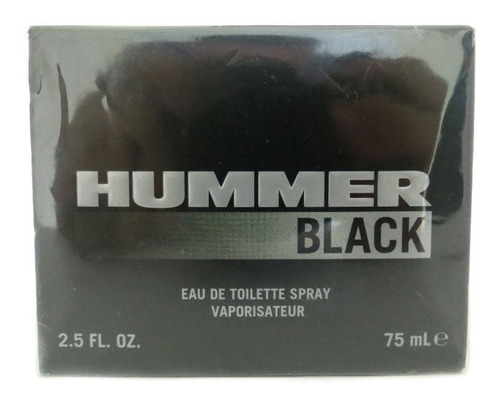 perfume masculino hummer black eau de toilette spray 75ml
