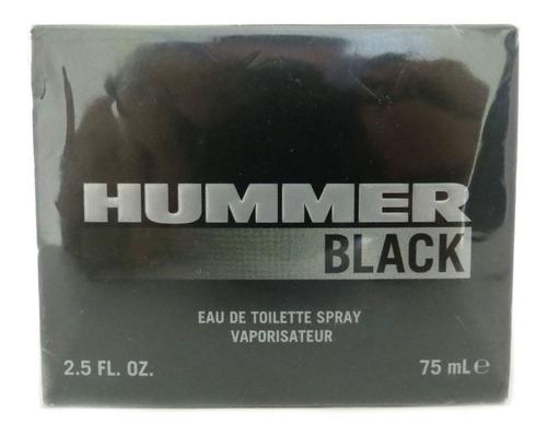 perfume masculino importado hummer black 75ml
