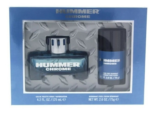 perfume masculino importado hummer chrome spray 125ml