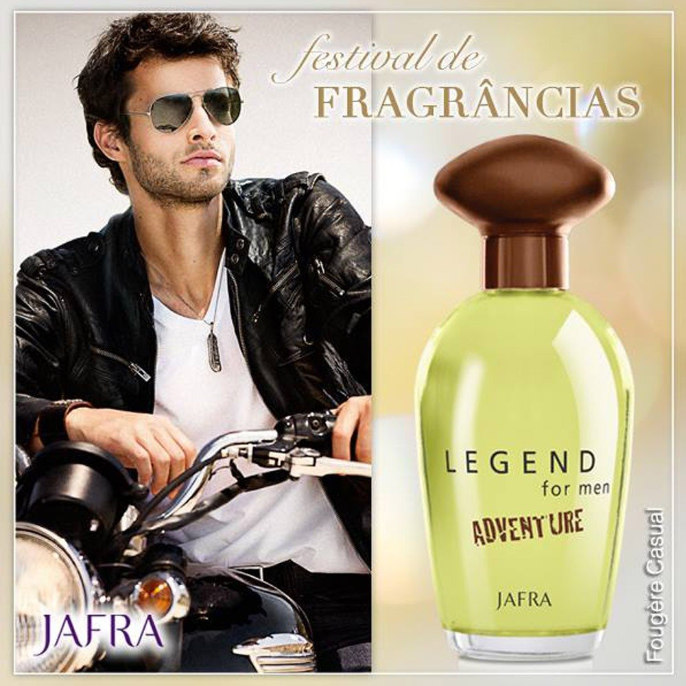 Perfume Masculino Importado Legend Adventure Original Jafra R 149 Gentleman Edt 100ml Carregando Zoom