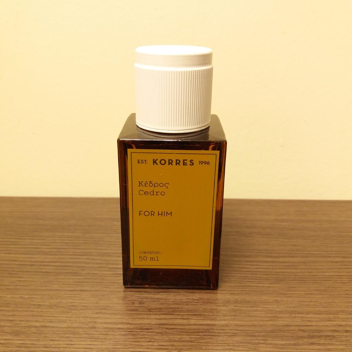 1fc9242be perfume masculino korres cedro 50ml edc. Carregando zoom.