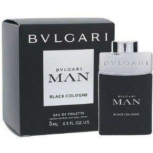 6e8695b5130 Perfume Masculino Miniatura Bvlgari Man Black Cologne 5ml - R  79