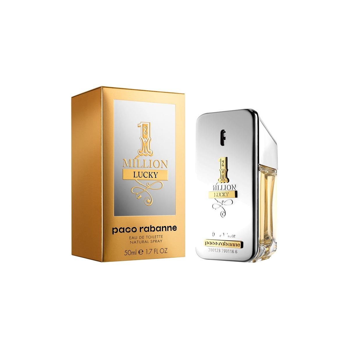 dc9b9ae9f Perfume Masculino Paco Rabanne One Million Lucky Edt - 50ml - R$ 329 ...