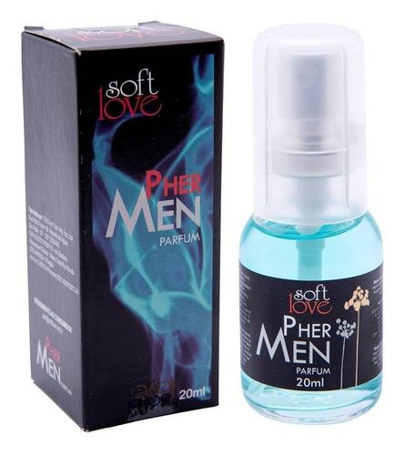 perfume masculino pher men atração marcante barato