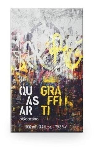 perfume masculino quasar graffiti 100ml por o boticário