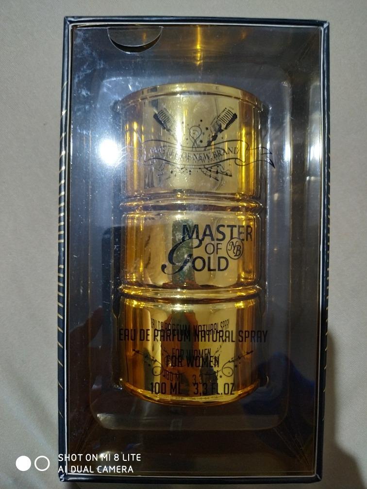 Perfume Master Of Gold R 4990 Em Mercado Livre