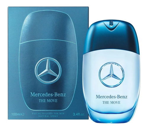 perfume mercedes benz the move 100ml lacrado 12x sem juros