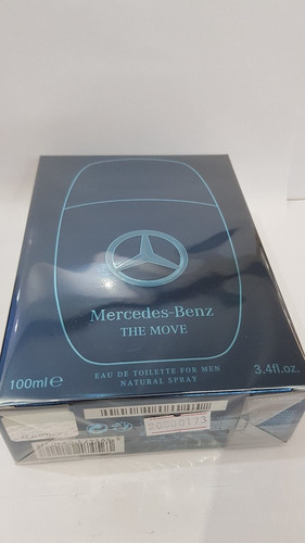 perfume mercedes benz the movie 100 ml edt masculino
