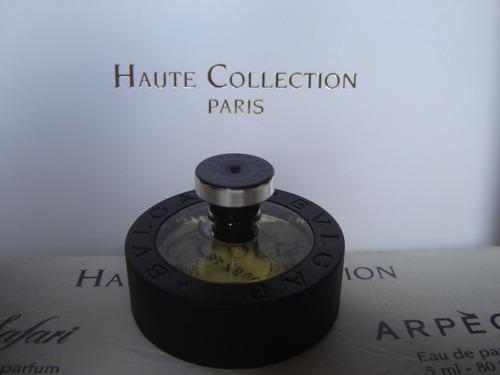perfume miniatura coleccion bvlgary acqua homme parfum 5 ml