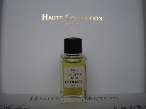 perfume miniatura coleccion chanel no. 19 de 5ml original