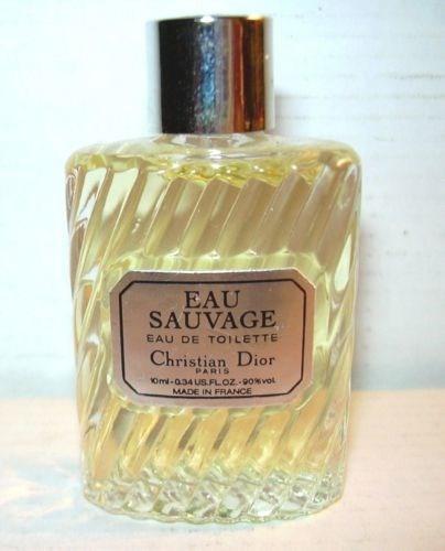 perfume miniatura coleccion christian dior eau sauvage 10ml