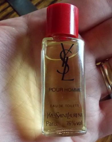 perfume miniatura coleccion yves saint laurent p homme 5ml