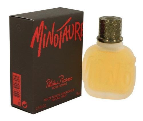 perfume minotaure paloma picasso 75 ml original masculino