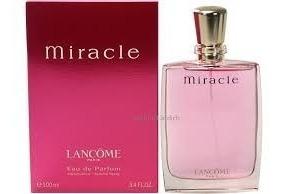 Perfume Edp Miracle Ml Lancôme By 100 Sellado xsdthQCBr