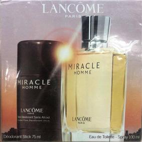 Homme Perfume Miracle 2 Lancomeset Piezas ymvNnw80O
