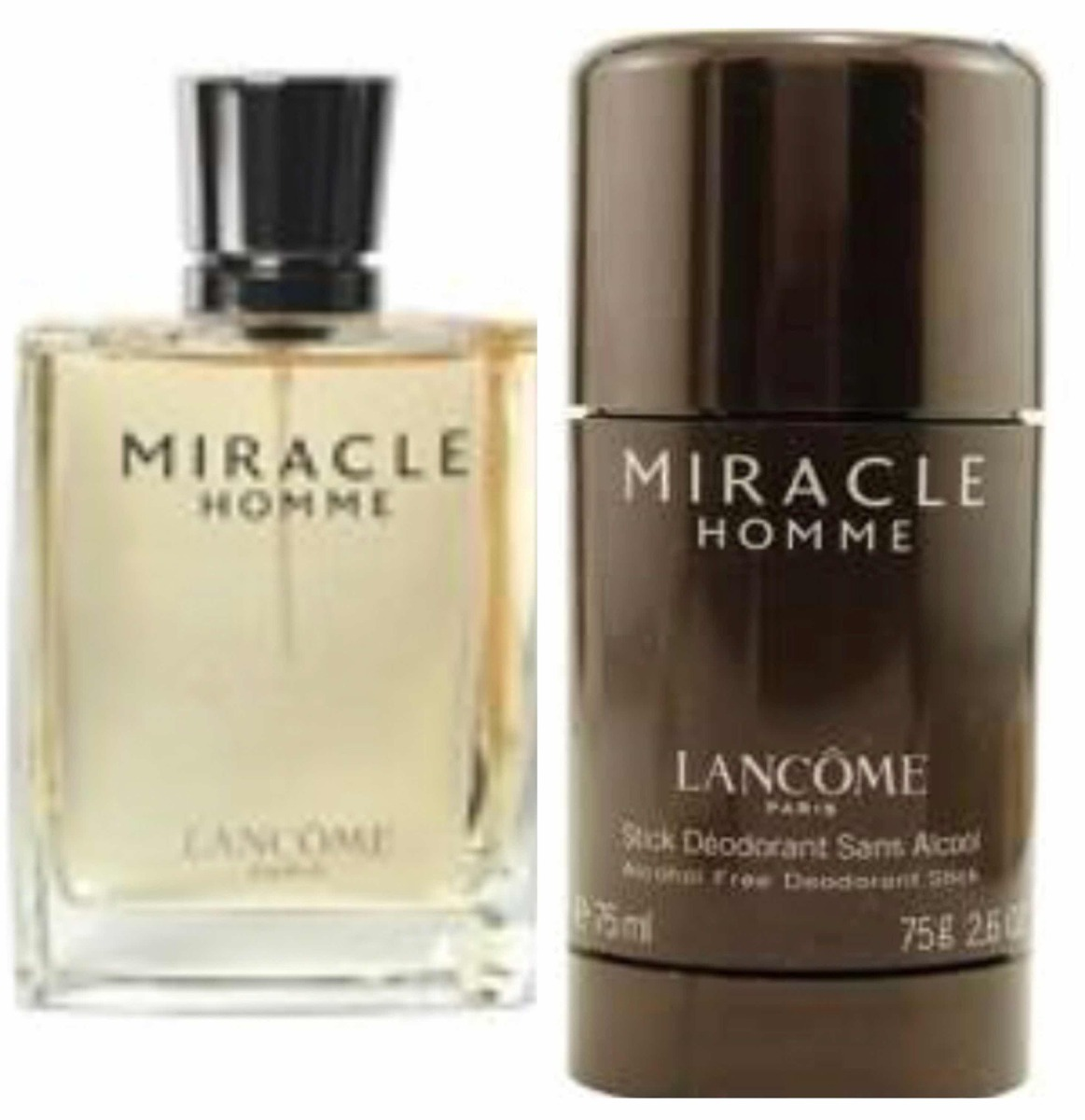 Miracle 2 Piezas Homme Perfume Lancomeset 8Ovm0NnywP