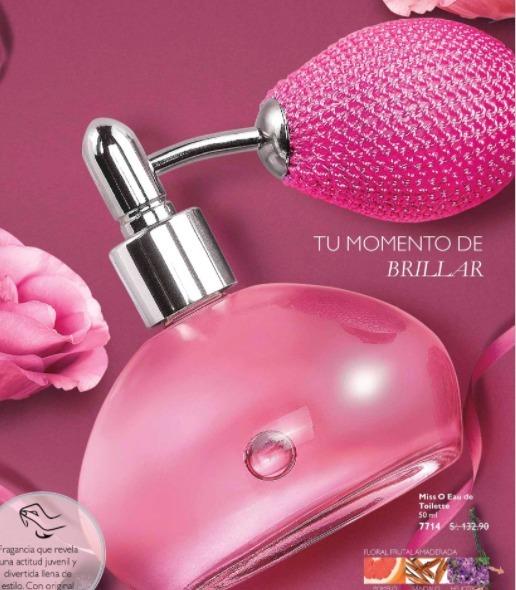 Perfume Miss O Con Pump Atomizador Oriflame Suecia