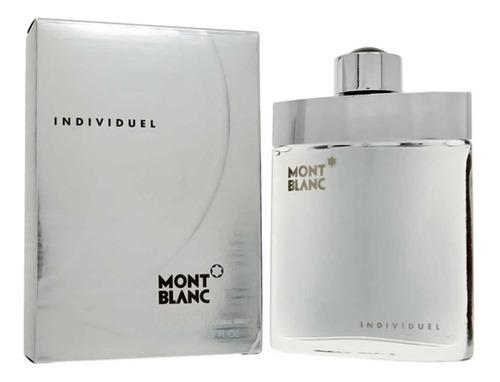 perfume mont blanc individuel 75 ml men