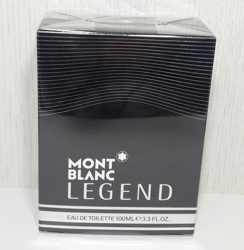perfume mont blanc legend 100 ml edt  masculino -original.