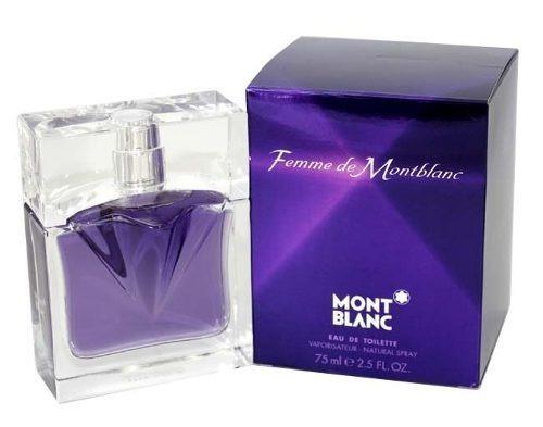 perfume mont blanc mujer